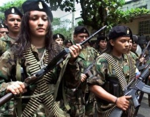 Colombia's FARC rebels will give up their arms.
