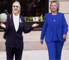 The amazing Hillary double diet.