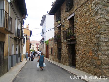 Pueblo con encanto La Puebla de Valverde  Teruel