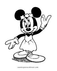 Dibujos De Minnie Mouse Para Colorear E Imprimir Archivos