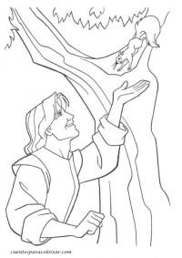 Dibujos para colorear Pocahontas Disney