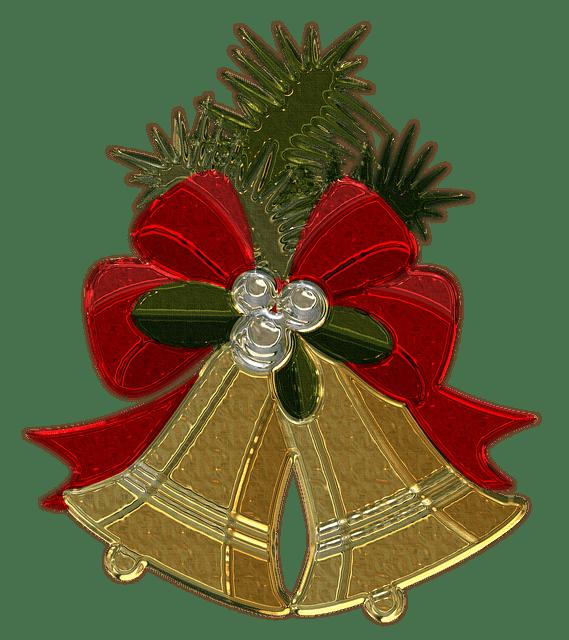 Navidad Adornos Navidad Adornos Adornos De Metal Campanas De - Adronos-de-navidad