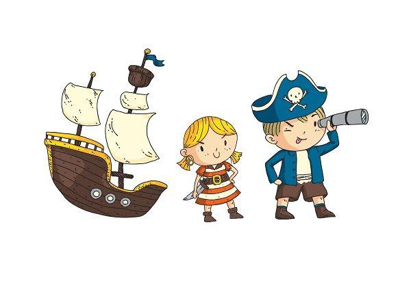 V. Las aventuras del pirata Valentín