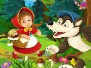 Caperucita Roja y el lobo feroz