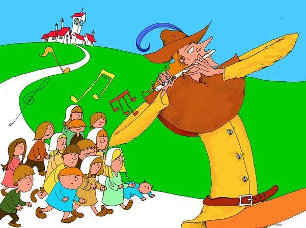 El Flautista De Hamelin Cuento Infantil Cuentosyrecetas
