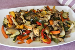 4..Verduras al horno