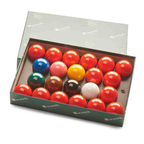 Aramith Premier Engraved Snooker Balls 2 1/16 inch