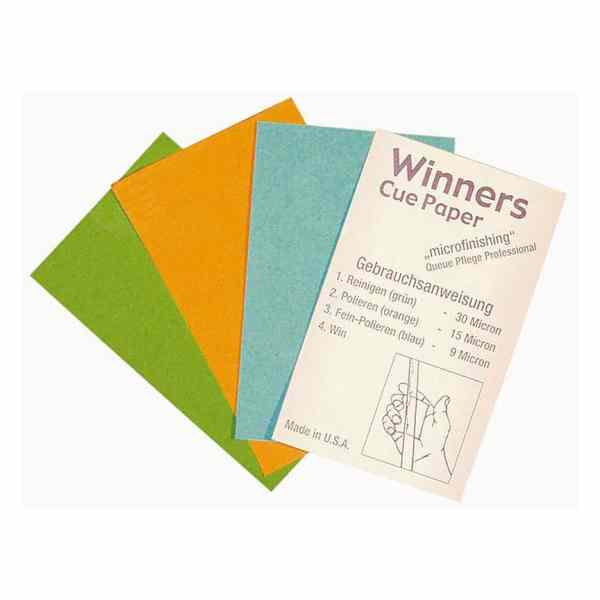 Winners Cue Paper - Snooker & Pool Cue Papers