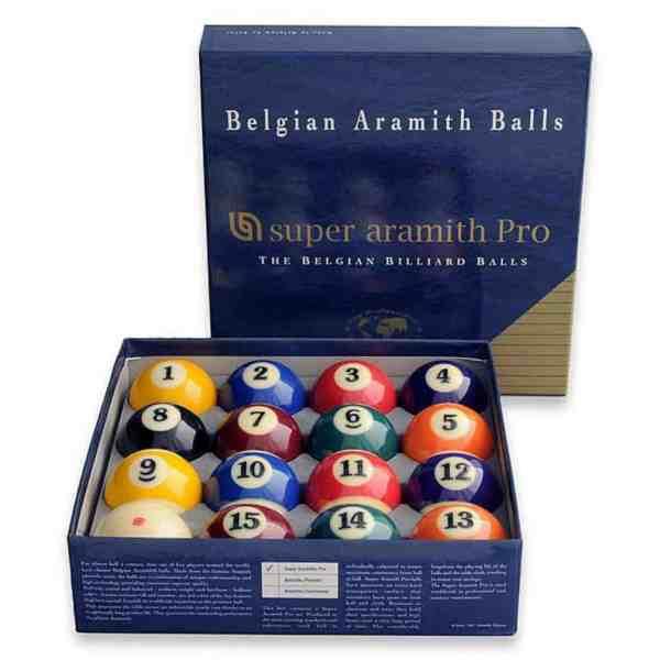 Super Aramith PRO 2¼ inch American Pool Balls