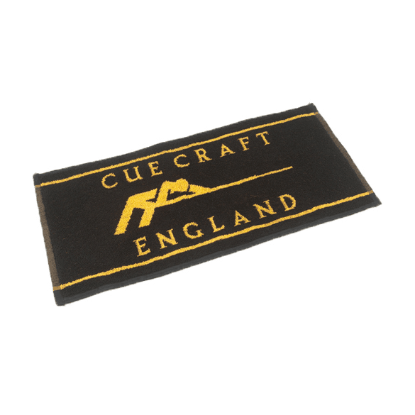 Cue Craft Gold & Black Cue Towel