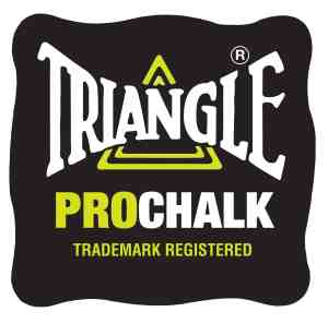 Tweetens Triangle Pro Cue Chalk 12 Pack