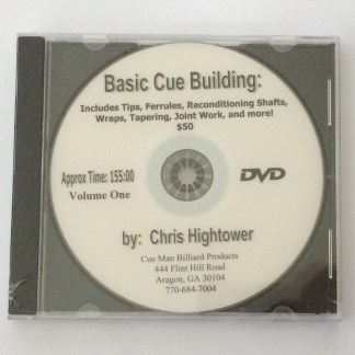 Basic Cue Building and Repair DVD-0