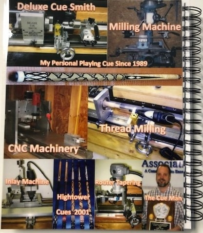 The Cue Building Book: From Tree, To Tip, To Trade Show! Fifth Edition.-1356