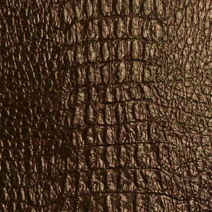 leather wrap brown gator