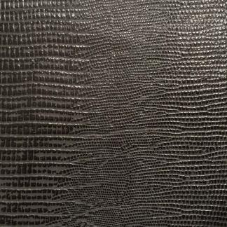 leather wrap gray lizard