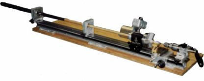 Mid Size Cue Smith Lathe with sliding Headstock -0
