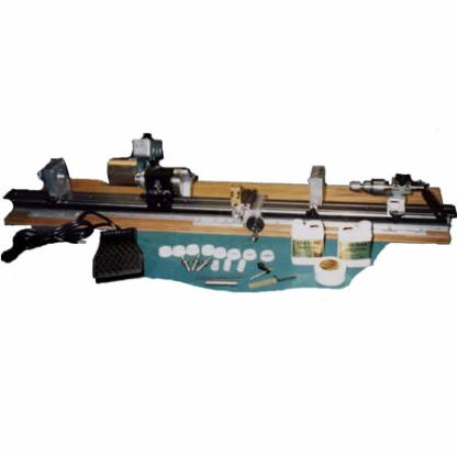 Mid Size Cue Smith Lathe with sliding Headstock -710