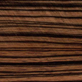 "Striped Ebony 18"" x 1.5"" Turning Square-0"