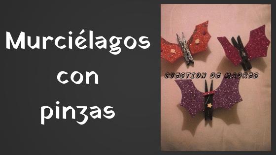 murciélagos con pinzas