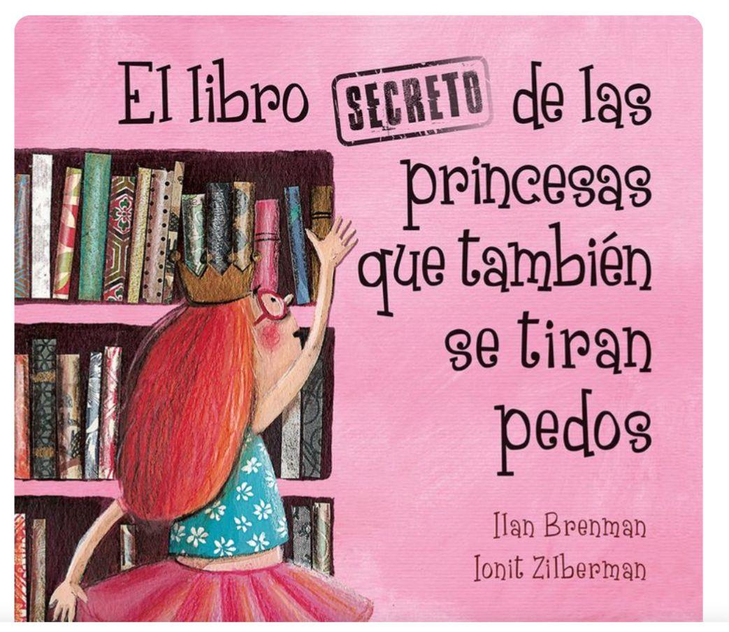 La segunda parte de Las princesas también se tiran pedos en nuestro top 7 libros infantiles
