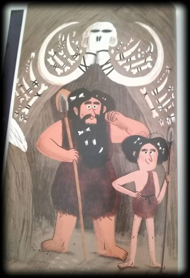 Vern, uno de los dos jefes de la tribu de La niña invisible y su hijo