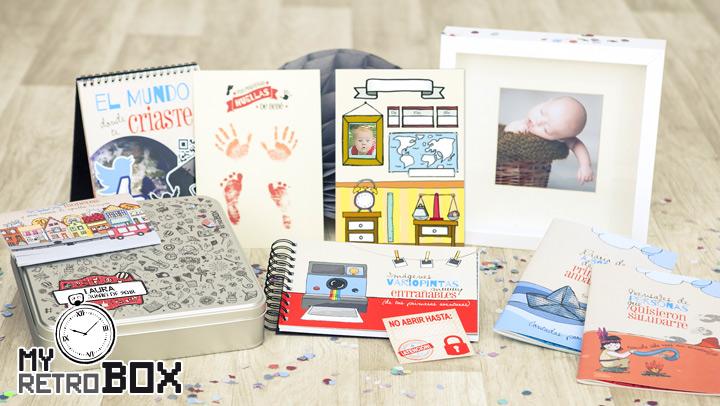 regalos de Bautizo: my retro box
