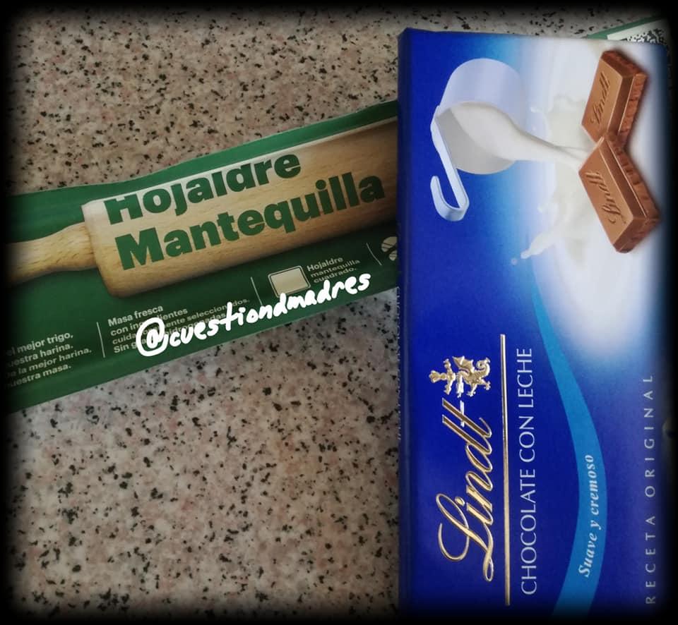 Los dos únicos ingredientes de nuestra trenza de chocolate