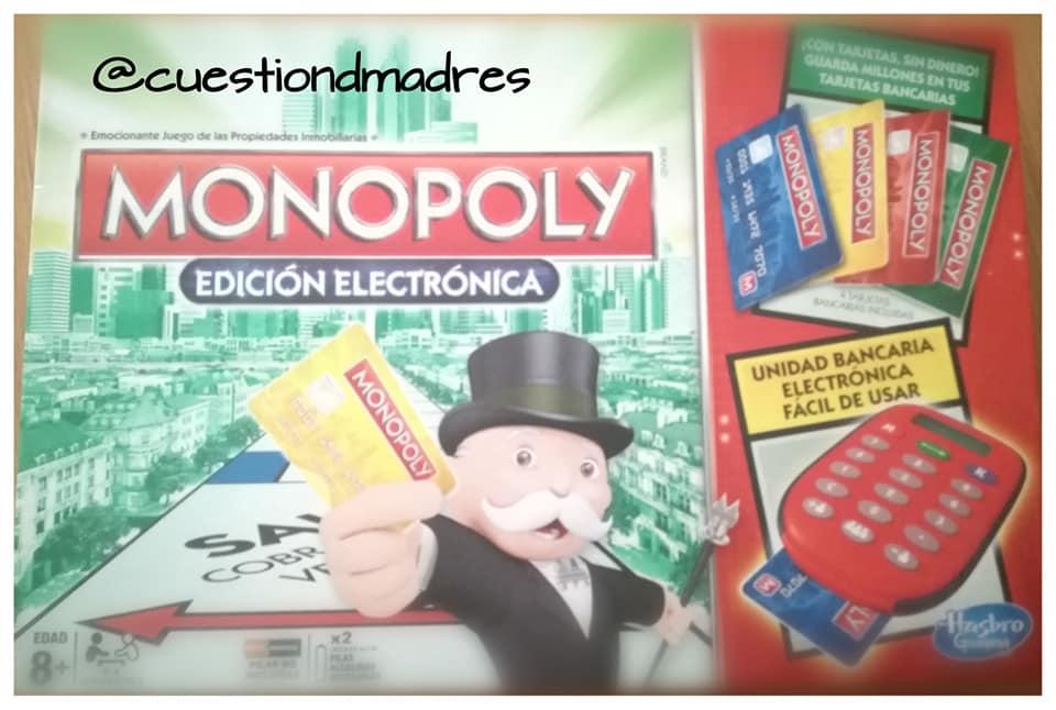 juegos de mesa preferidos. Monopoly electrónico