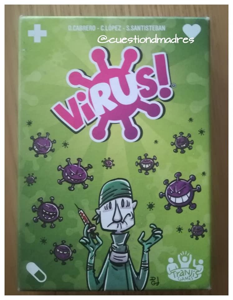 juegos de mesa preferidos. Virus