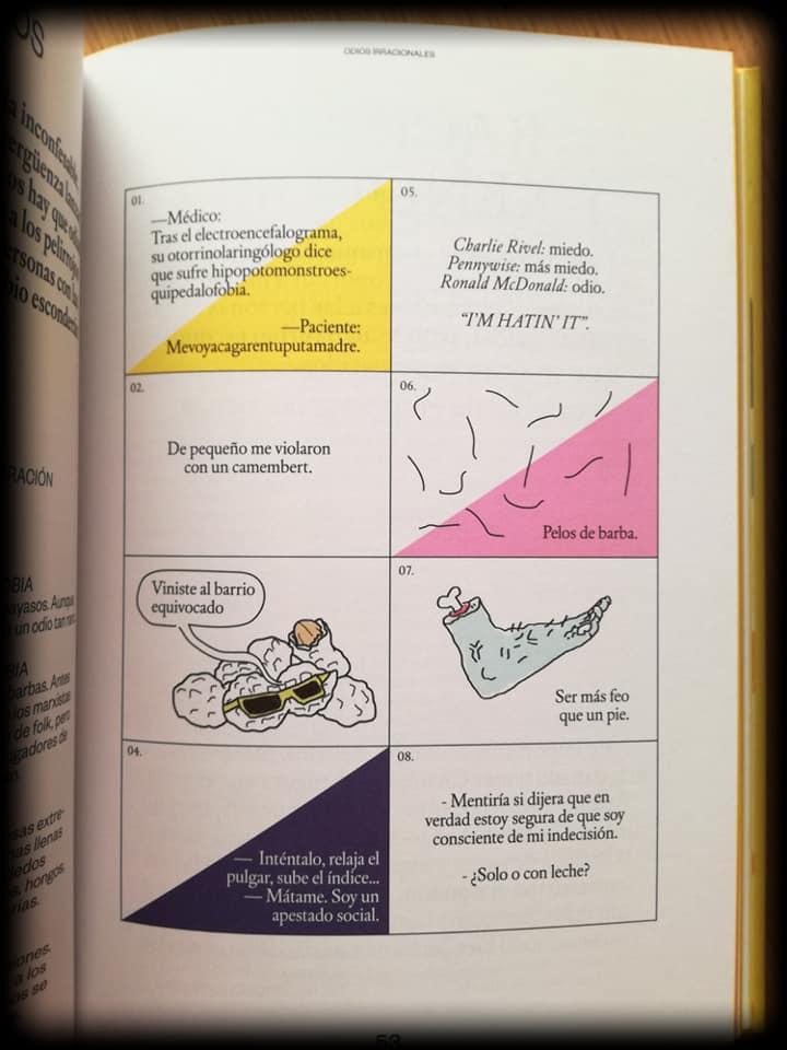 El libro del odio. Fobias