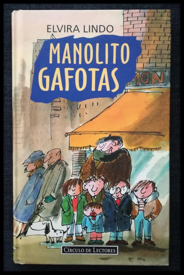 Últimos libros que han llegado a nuestra casa. Manolito Gafotas