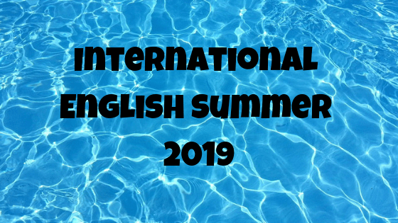 International English Summer 2019