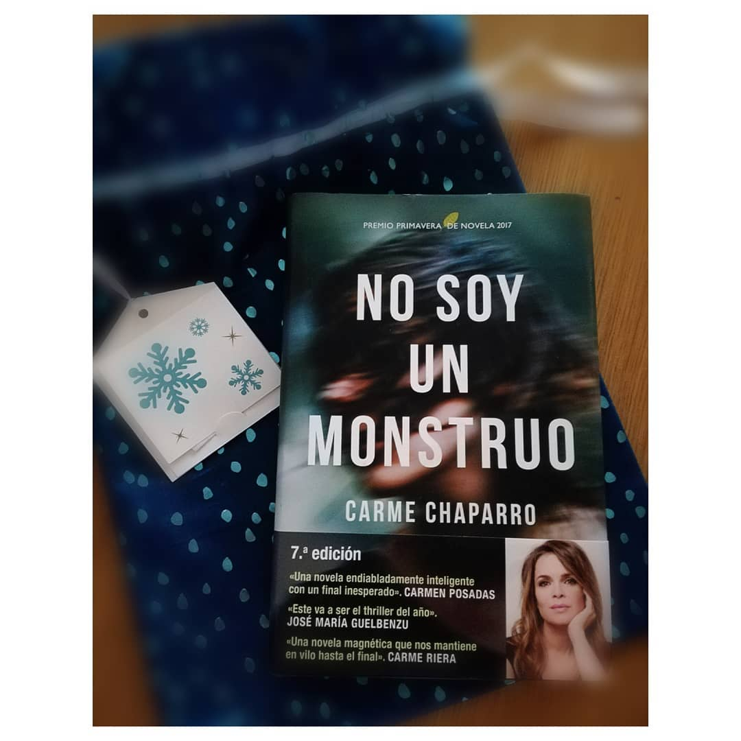 No soy un monstruo. Imagen subida al Instagram de cuando me llegó este pedazo de regalo