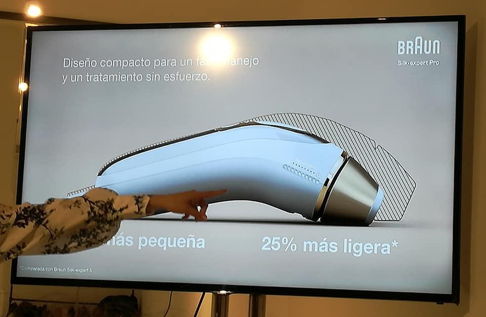 Diferencia entre el anterior modelo y la nueva Braun Silk-Expert Pro 5