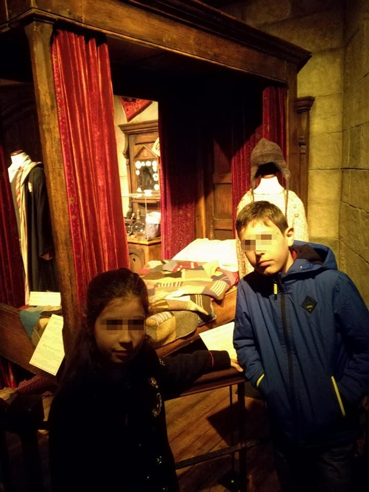 La cama de Ron en Hogwarts