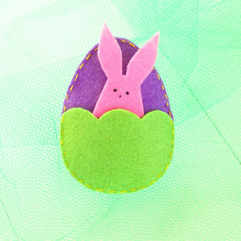 Manualidades de Pascua con fieltro