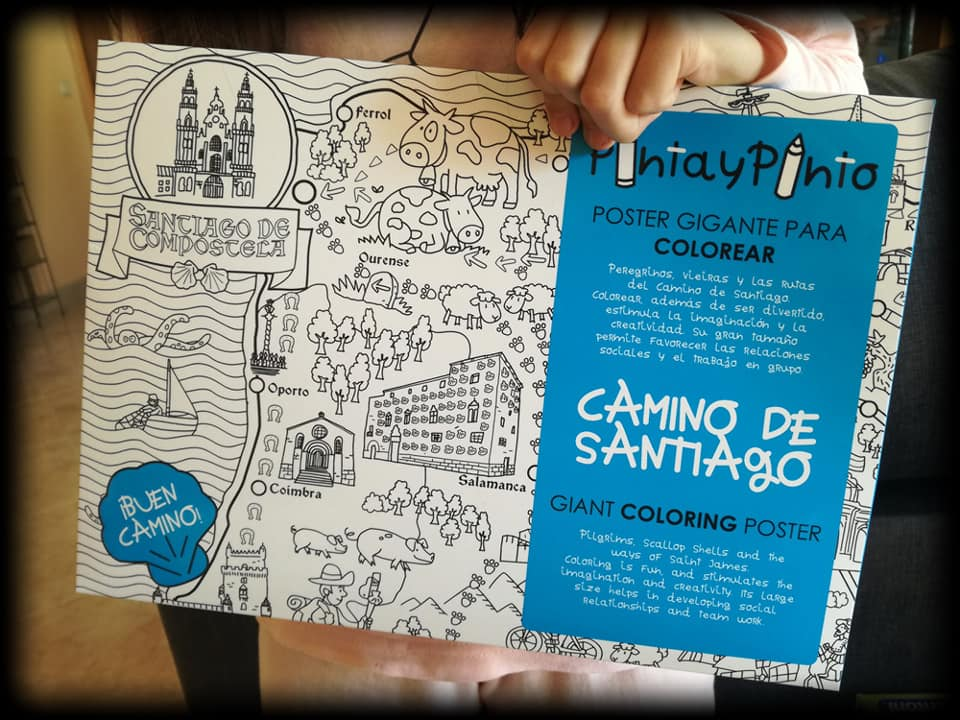 Estuche de Pinta y Pinto Camino de Santiago