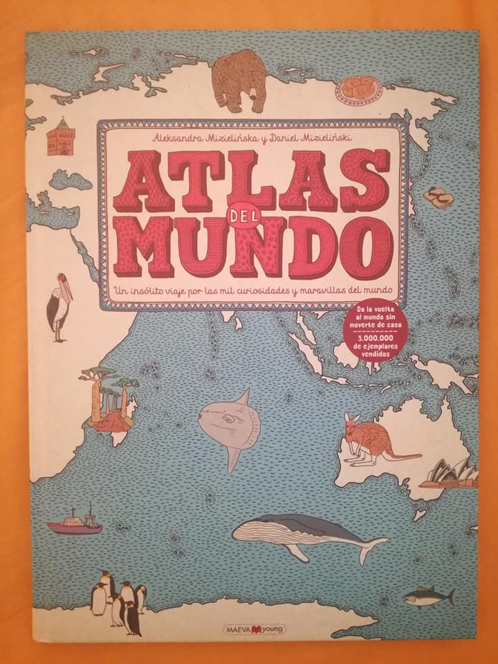 Atlas del mundo de la editorial Maeva Young