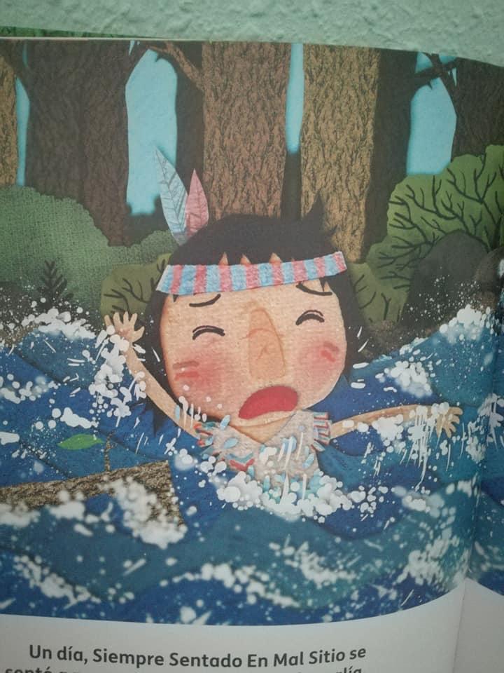 ¿Por qué se habrá caído nuestro protagonista al agua?