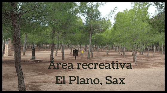 Área recreativa El Plano de Sax