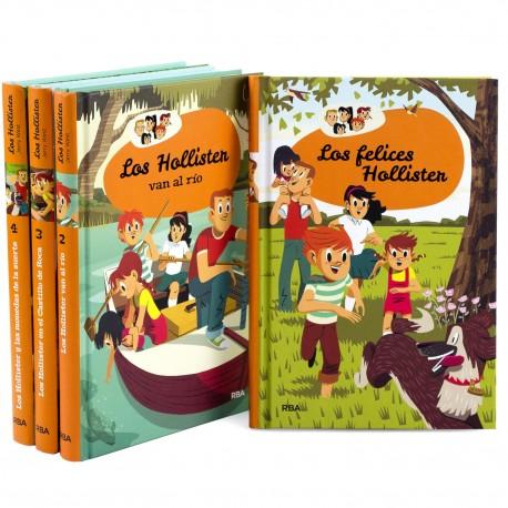 Dentro de las 4 colecciones de libros juveniles renovados nos encontramos con los hermanos Hollister
