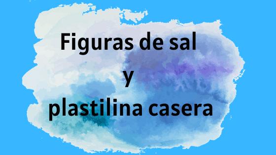 figuras de sal y plastilina casera