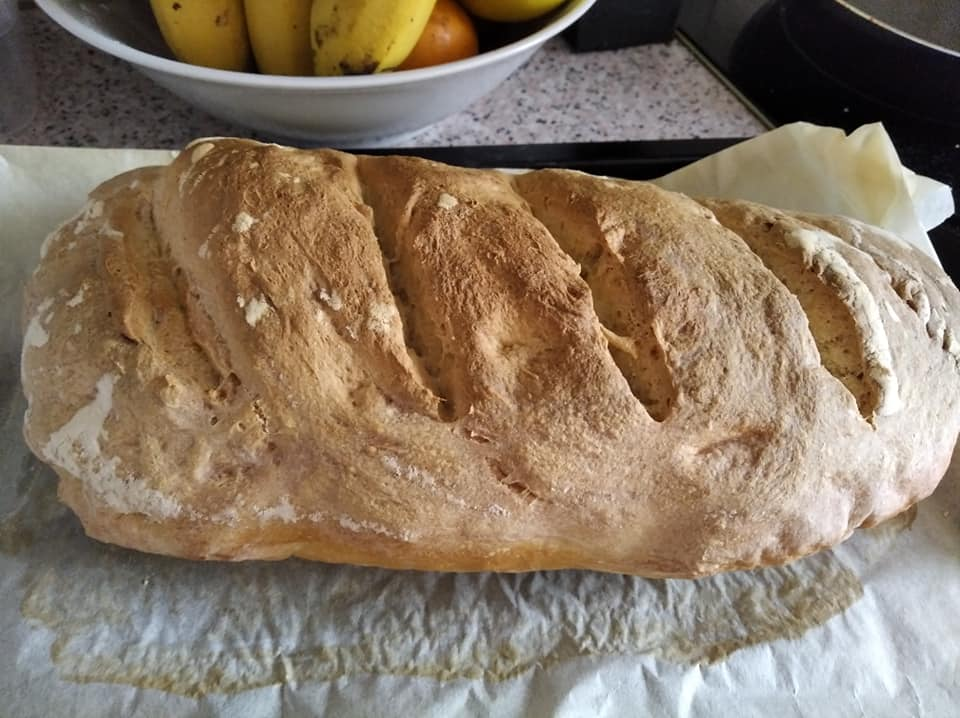 Tamaño del pan casero si se hace solo uno con estas cantidades