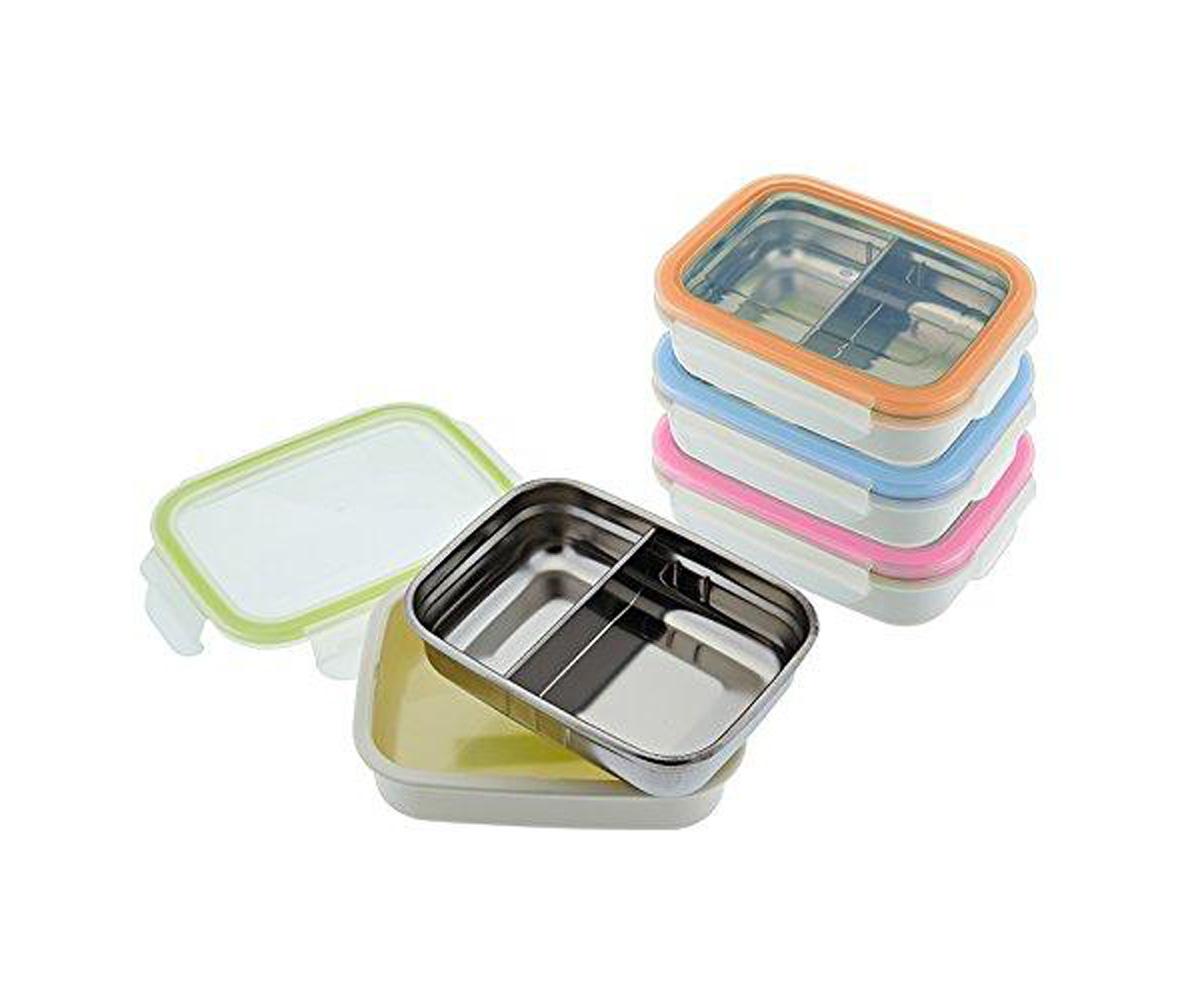 Métodos ecológicos para llevar el almuerzo al cole como las fiambreras de acero inoxidable. Ejemplo las que tienen en Tutete