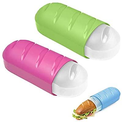 Portabocadillos extensible y reutilizable Tatay. Uno de los métodos ecológicos para llevar el almuerzo al cole. Podéis encontrarlo en Amazon