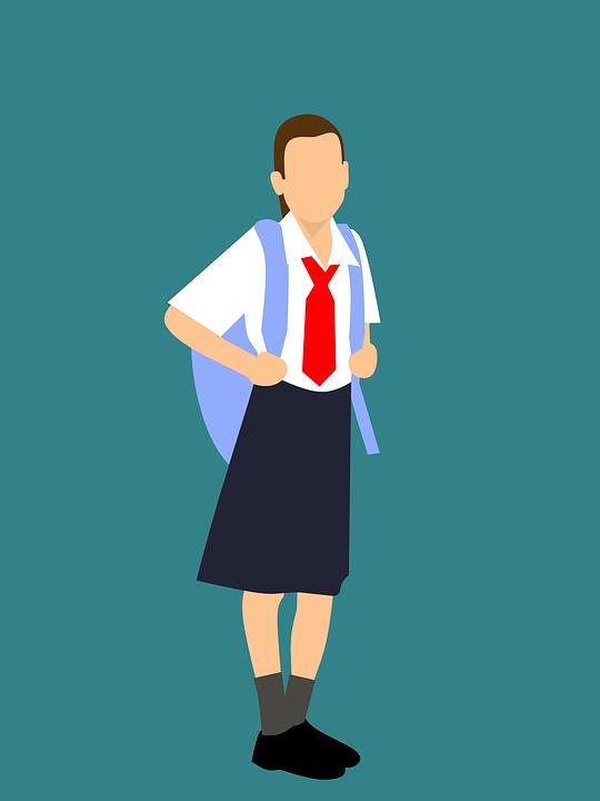 El uniforme en los colegios que lo usan siempre es un tema controvertido y en esta ocasión la largura de la falda fue la causante de la disputa