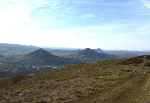 San Luis Obispo, Madonna Mountain, Bishops Peak, and even the Morro Bay estuary are visible from the top of the mountain.