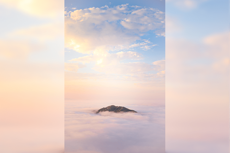 A Mountain in the Fog