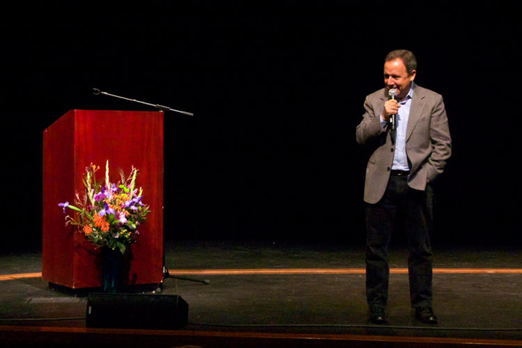 """Ron Suskind, author """"Life, Animated - A Story of Sidekicks, Heroes, and Autism"""""""
