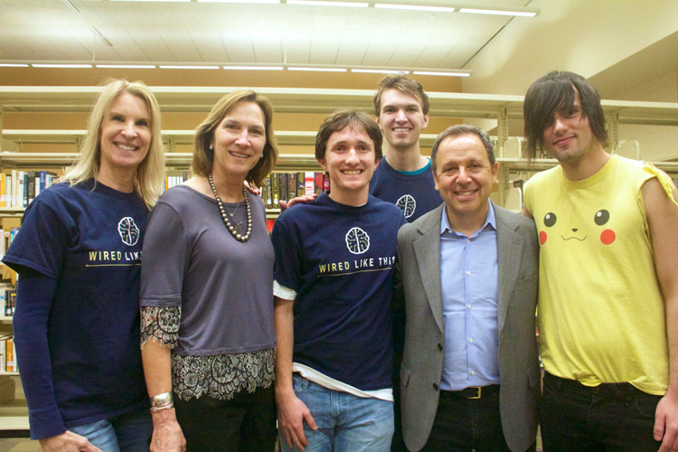 Ron Suskind and audience members